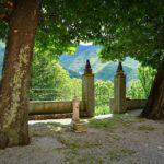 Accesso al sentiero per San Martino di Licciorno da Prato Sopralacroce