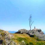Cappelletta e Madonnina sulla cima sud ovest del Ramaceto