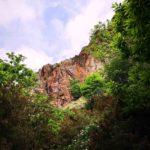 La rocca di diaspro rosso in Valle Lagorara