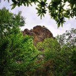 Rocca di diaspro rosso in Valle Lagorara