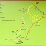 cartina del percorso da Barbagelata al Monte Caucaso