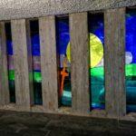 I vetri policromi della chiesa di Barbagelata