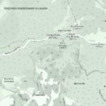 Cartina della passeggiata da Pratorotondo al Monte Rama