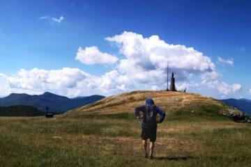 Verso la Madonna di Guadalupe sulla cima del Monte Maggiorasca