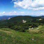 panchina panoramica al Monte Bue