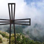 Croce sulla cima del Monte Rama
