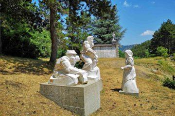 L'opera di Harold Balasz al Passo del Biscia