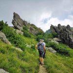 percorrendo il sentiero da Fontanaccia al Monte Rama