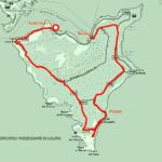 Cartina dell'isola Palmaria