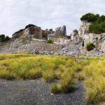 Cave di Portoro al capo sud della Palmaria