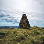 """Il """"dito del grande spirito"""" sulla cima secondaria del Pracaban"""