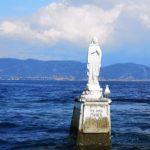 La Madonnina presso l'isola di Tino