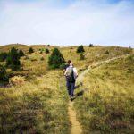 Salendo verso la cima del Monte Pracaban