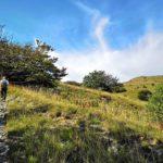 Salendo verso il Monte Pracaban