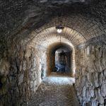 Il tunnel del Beodo a Bordighera alta