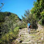 Rocchetta Nervina - partenza del sentiero per il ponte Cin