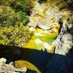 L'ombra del ponte Cin sul torrente