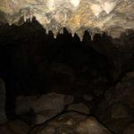 Piccole stalattiti nell'arma del Mulo