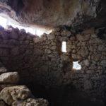 Il muro con finestre nell'arma del Mulo