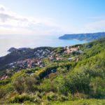 Bergeggi vista da Sant'Elena