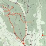 Cartina - Rocca di Perti