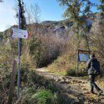 Arma Strapatente - imbocco del sentiero a Boragni