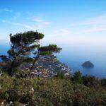 Isola di Bergeggi vista dal Monte Mao