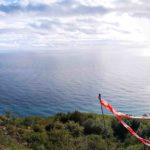 Panorama dal decollo di parapendio di Sant'Elena