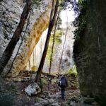Arma Strapatente - sentiero tra le rocce