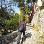 Sulla strada del Boriolo a Varigotti