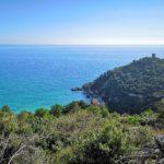 La Baia dei Saraceni sotto Punta Crena