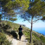 Sul sentiero del Balcone sul Mare a Varigotti