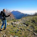 Dal sentiero vista della cresta del Monte Acuto
