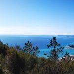 Vista della costa di Ponente dal Santuario di Varazze