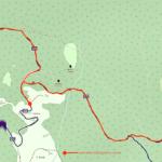 Cartina - Strada Megalitica e Sant'Anna