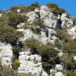 Bric Grigio con arrampicatore