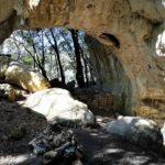 L'enorme arco di Grotta Pollera