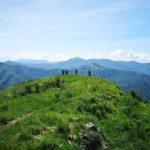 Alla fine del costone panoramico di Alpesisa