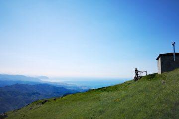 Panorama dal Monte Penello