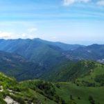 Panorama dalla cresta di Alpesisa