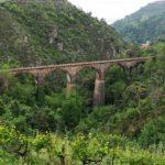 Il ponte della ferrovia visto da Ronco inferiore