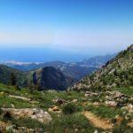 Vista su Punta Martin da Monte Penello