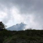 Il Santuario della Madonna della Guardia visto dal sentiero Praglia - Penello