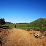 Rosso e verde nei pressi di Monte Foscallo