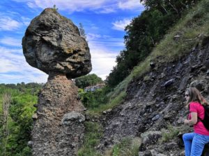 Il fungo di pietra di Piana Crixia