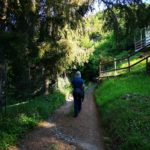 Imbocco del sentiero per il Monte Reale