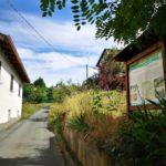 Imbocco del sentiero delle creste a Piana Crixia