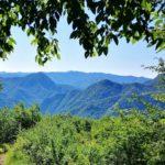 Panorama dal sentiero per il Monte Reale