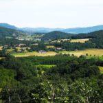 Panorama dal sentiero delle creste