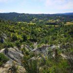 Panorama dal sentiero delle creste a Piana Crixia